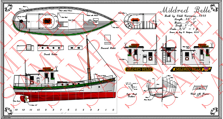 Work Boats Drawings Deadrise Drawings is The